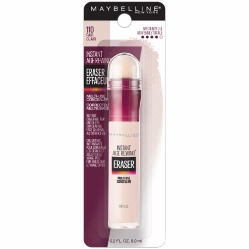 Maybelline Instant Age Rewind Eraser 110 Fair Multi-Use Concealer Perspective: front