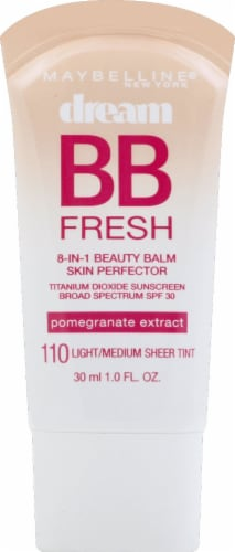 Maybelline Dream Fresh 110 Light Medium BB Cream SPF30 Perspective: front