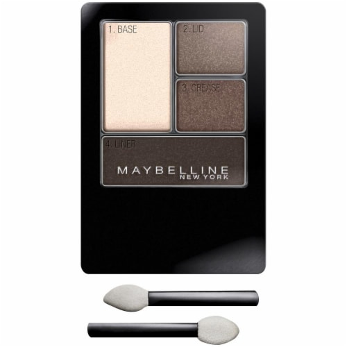 Maybelline Expert Wear Natural Smokes Eyeshadow Quad Perspective: front