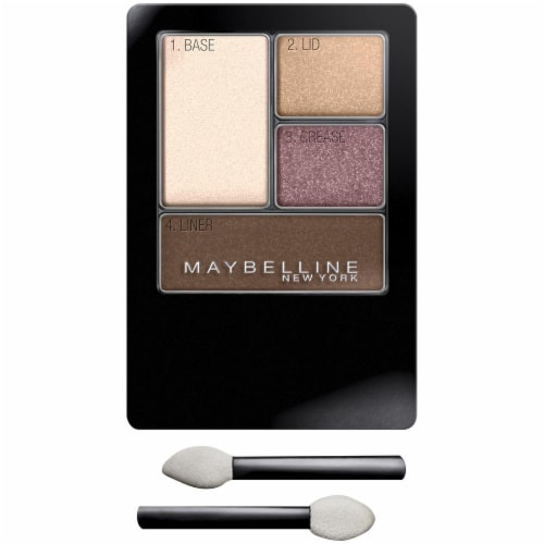 Maybelline Expert Wear Designer Chocolates Eyeshadow Quad Perspective: front