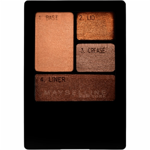 Maybelline Expert Wear Chai Latte Eyeshadow Quad Perspective: front
