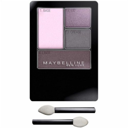 Maybelline Expert Wear Lavender Smokes Quad Eyeshadow Perspective: front
