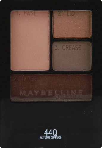 Maybelline Expert Wear Autumn Coppers Quads Eyeshadow Perspective: front
