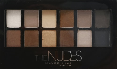 Maybelline Expert Wear The Nudes Eyeshadow Palette Perspective: front