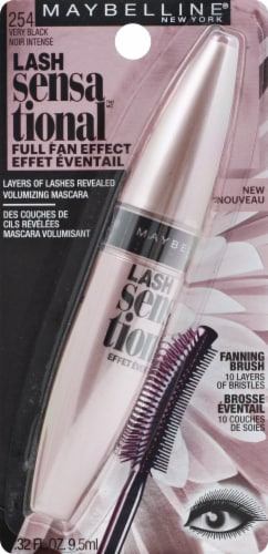 Maybelline Lash Sensational Very Black Washable Mascara Perspective: front