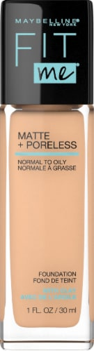 Maybelline Fit Me! Matte + Poreless 125 Nude Beige Liquid Foundation Perspective: front