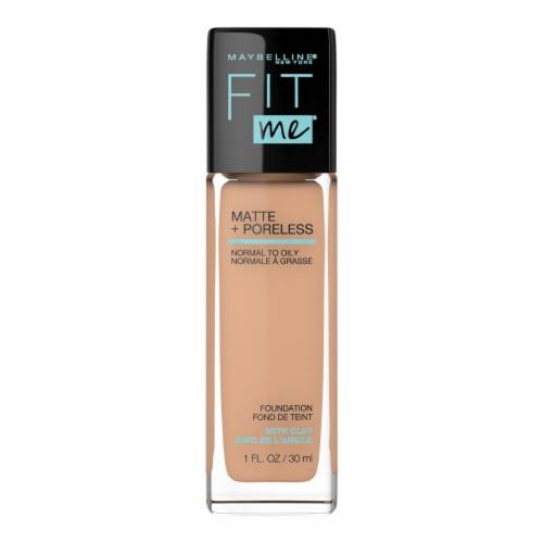 Maybelline Fit Me Matte + Poreless 310 Sun Beige Liquid Foundation Perspective: front