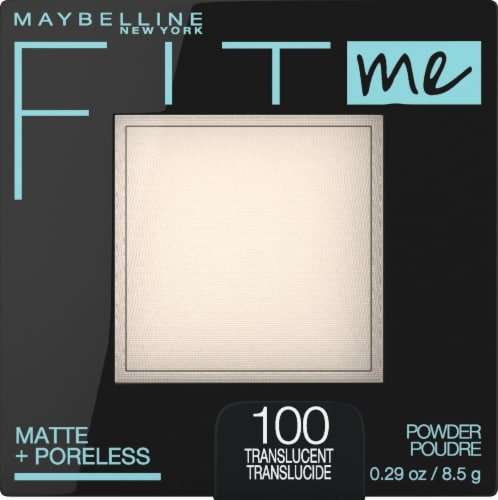 Maybelline Fit Me Matte & Poreless 100 Transluscent Face Powder Perspective: front