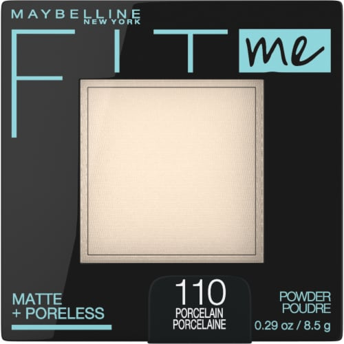 Maybelline Fit Me Matte + Poreless 110 Porcelain Pressed Face Powder Perspective: front