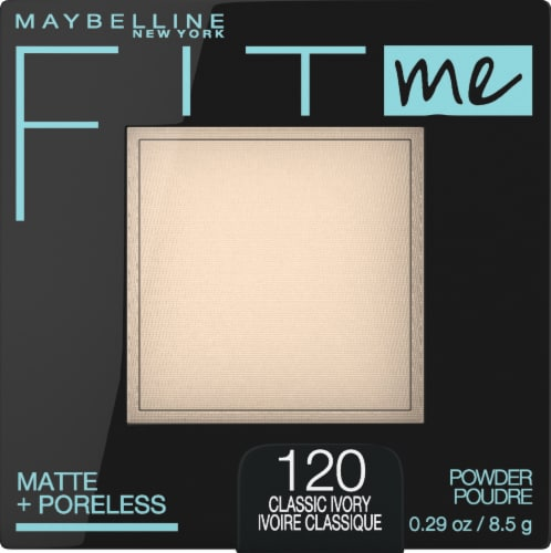 Maybelline Fit Me Matte + Poreless 120 Classic Ivory Pressed Face Powder Perspective: front