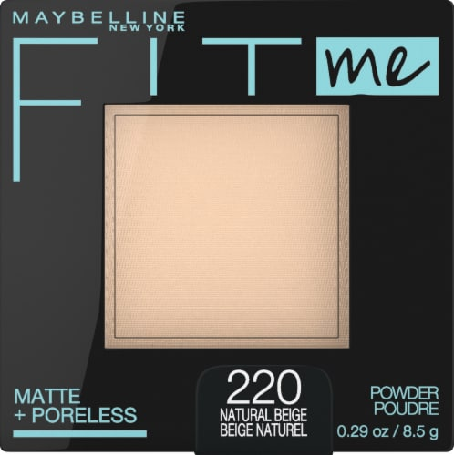 Maybelline Fit Me Matte + Poreless 220 Natural Beige Pressed Face Powder Perspective: front