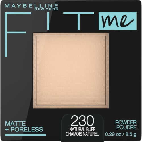 Maybelline Fit Me Matte + Poreless 230 Natural Buff Pressed Face Powder Perspective: front