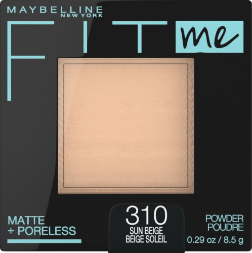 Maybelline Fit Me Matte + Poreless 310 Sun Beige Pressed Face Powder Perspective: front