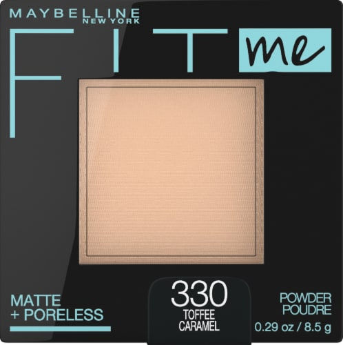 Maybelline Fit Me Matte + Poreless 330 Toffee Caramel Pressed Face Powder Perspective: front