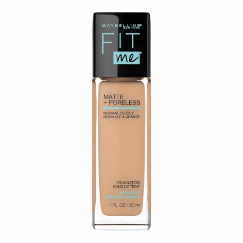 Maybelline Fit Me! Matte + Poreless Soft Tan 228 Liquid Foundation Perspective: front