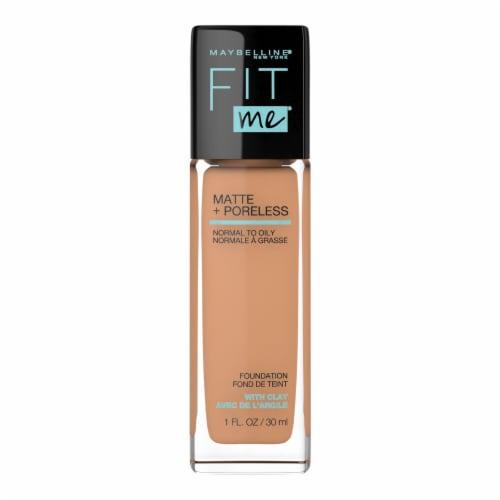 Maybelline Fit Me! Matte + Poreless 322 Warm Honey Liquid Foundation Perspective: front