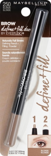 Maybelline Blonde Brow Define + Fill Duo Pencil Perspective: front