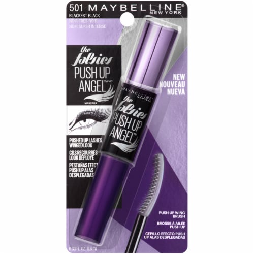 Maybelline Push Up Drama Angel Mascara - Blackest Black Perspective: front