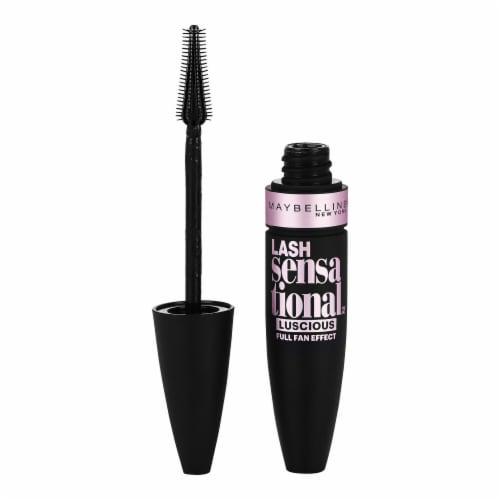 Maybelline Lash Sensational Luscious Brownish Black Mascara Perspective: front