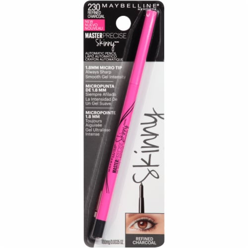 Maybelline Master Precise Skinny Gel Pencil Eyeliner - Charcoal 230 Perspective: front