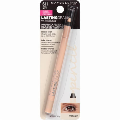 Maybelline Lasting Drama Soft Nude Waterproof Gel Pencil Perspective: front