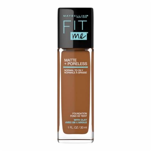 Maybelline Fit Me Matte + Poreless 360 Mocha Liquid Foundation Perspective: front