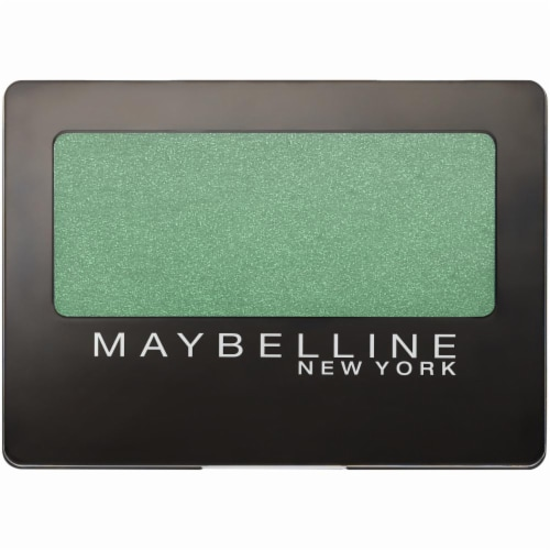 Maybelline Expert Wear Forest Green Eyeshadow Perspective: front