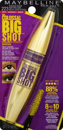 Maybelline Colossal Big Shot 223 Very Black Mascara Perspective: front