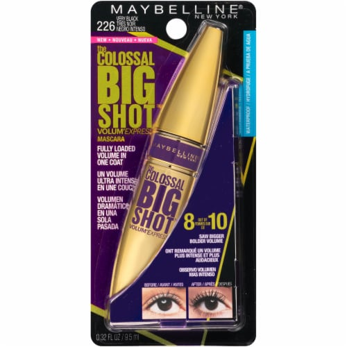 Maybelline Colossal Big Shot Very Black Mascara Perspective: front