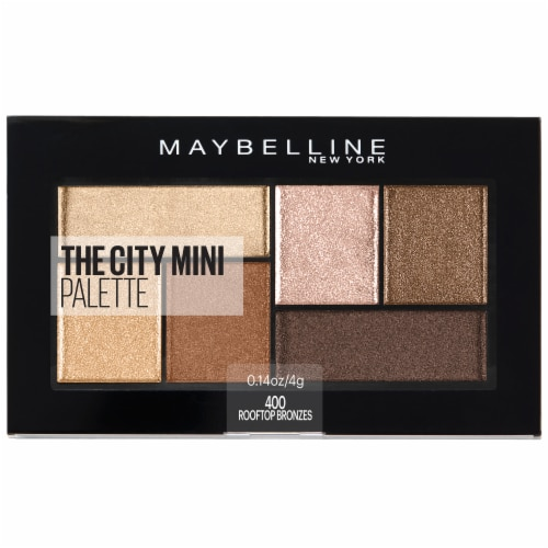 Maybelline The City Mini Eyeshadow Palette - Rooftop Bronzes Perspective: front
