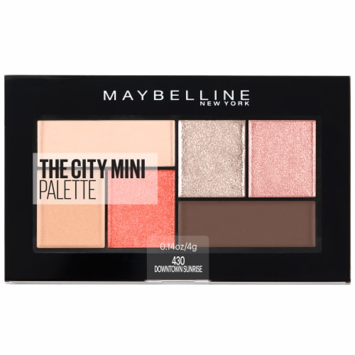 Maybelline Downtown Sunrise The City Mini Eyeshadow Palette Perspective: front