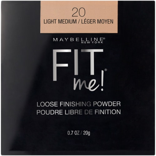 Maybelline Fit Me Light Medium Loose Finishing Powder Perspective: front
