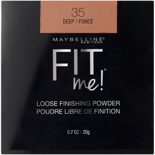 Maybelline Fit Me Loose Finishing Powder - Deep Perspective: front