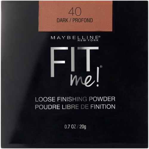 Maybelline Fit Me Loose Finishing Powder - Dark Perspective: front