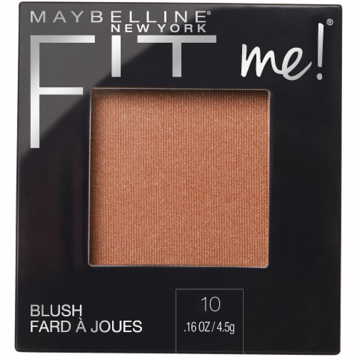 Maybelline Fit Me 10 Buff Blush Perspective: front