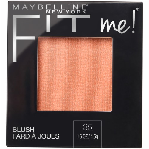 Maybelline Fit Me Coral Blush Perspective: front
