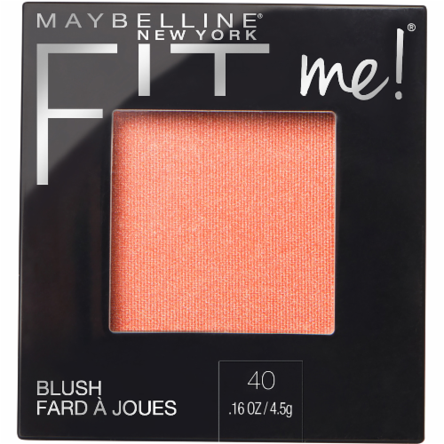 Maybelline Fit Me Peach Blush Perspective: front