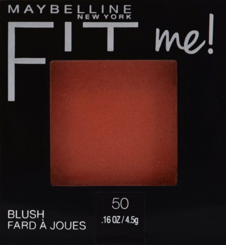 Maybelline Fit Me Wine Blush Perspective: front