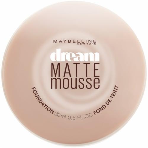 Maybelline Dream Matte Porcelain Ivory Light Mousse Foundation Perspective: front