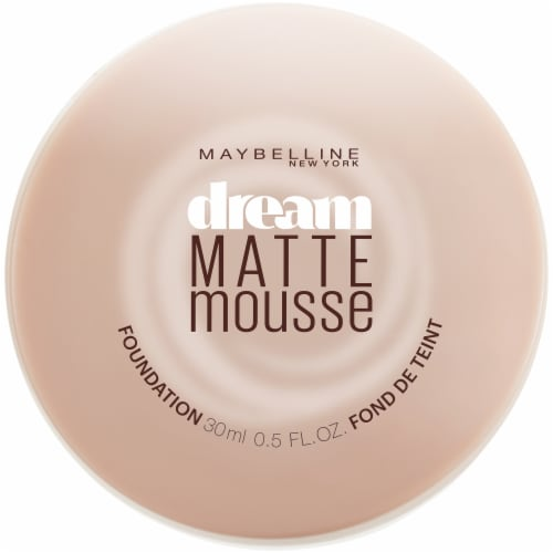 Maybelline Dream Matte Mousse Creamy Natural Light Foundation Perspective: front