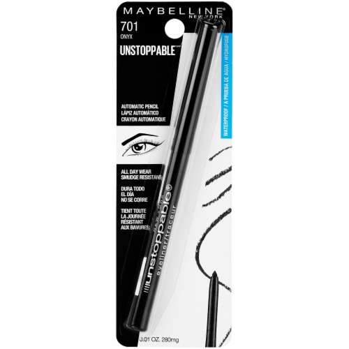 Maybelline Unstoppable Eyeliner - 701 Onyx Perspective: front