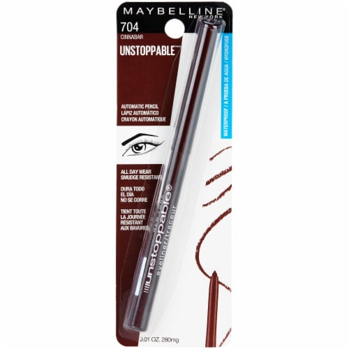 Maybelline Unstoppable Cinnabar Eyeliner Perspective: front