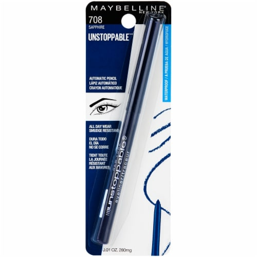 Maybelline Unstoppable Sapphire Eyeliner Perspective: front