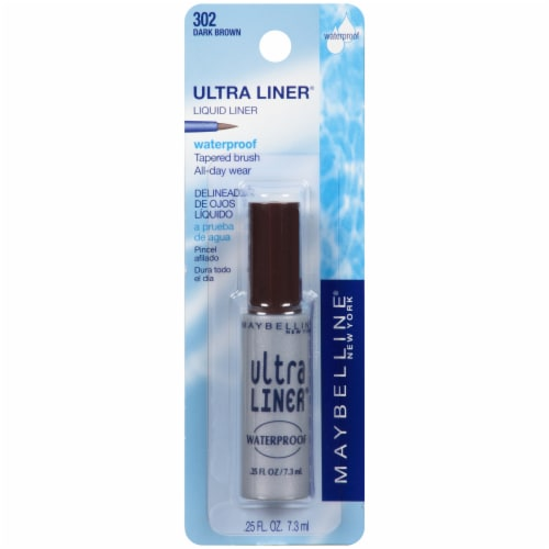 Maybelline Ultra Liner Waterproof Dark Brown Liquid Liner Perspective: front