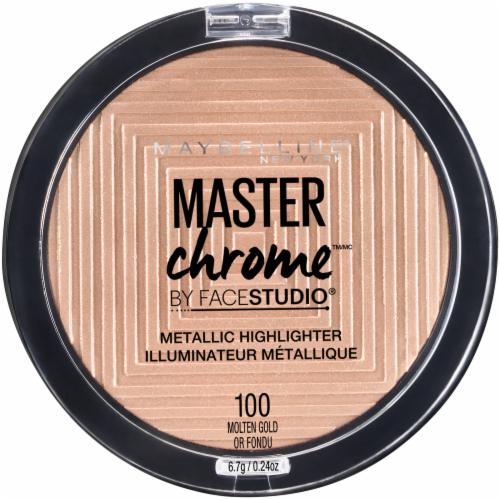 Maybelline Master Studio Chrome - Molten Gold Perspective: front