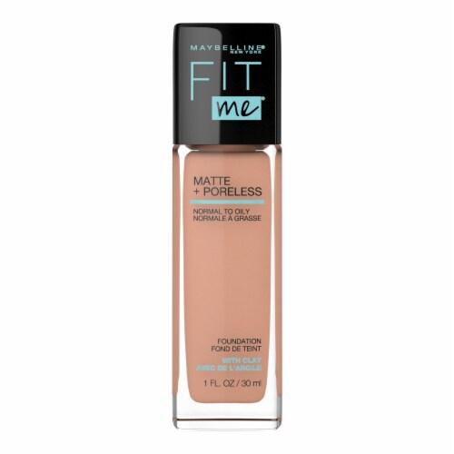 Maybelline Fit Me Matte + Poreless Light Honey Liquid Foundation Perspective: front