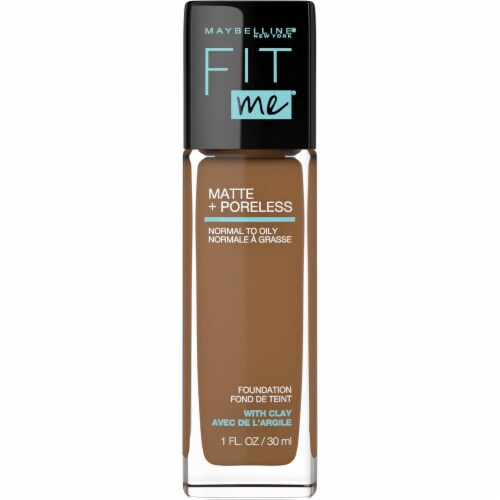 Maybelline Fit Me! Matte + Poreless 362 Truffle Liquid Foundation Perspective: front