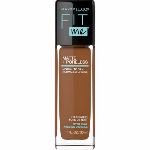 Maybelline Fit Me 368 Deep Golden Foundation Perspective: front