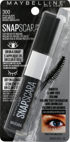 Maybelline 300 Pitch Black Mascara Perspective: front