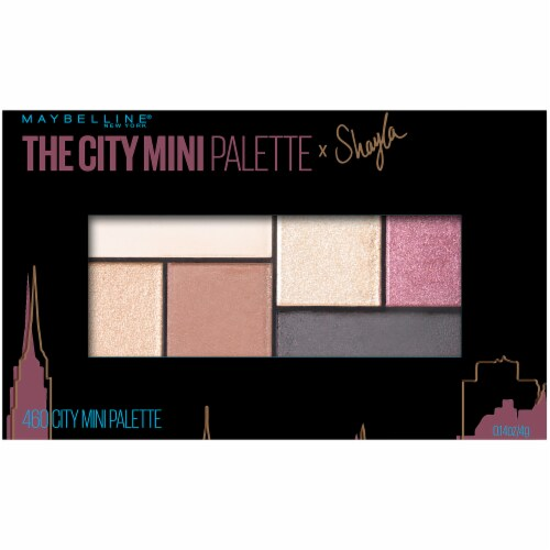 Maybelline The City Mini Palette x Shayla Eyeshadow Kit Perspective: front